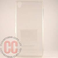 Чехол-накладка TPU для Sony Z3 (прозрачный)
