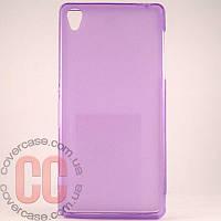 Чехол-накладка TPU для Sony Z3 (фиолетовый)