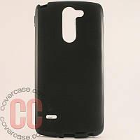 Чехол-накладка TPU для LG G3 Stylus D690 (черный)
