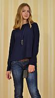 Модная женская блузка свободный крой 7М5000 MEES Турция, фото 1