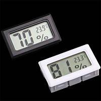 Термометр гигрометр миниатюрный цифровой, показание влажности LCD термодатчик