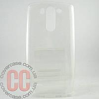 Чехол-накладка TPU для LG G3 mini 3Gs (прозрачный)
