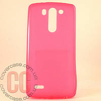 Чехол-накладка TPU для LG G3 Mini 3Gs (розовый)