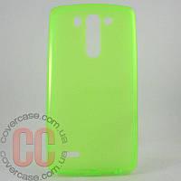Чехол-накладка TPU для LG G3 mini 3Gs (салатовый)