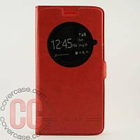 Чехол-книжка с окошками для LG G3 mini 3Gs (красный)