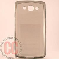 Чехол-накладка TPU для LG L60 X135 (черный)