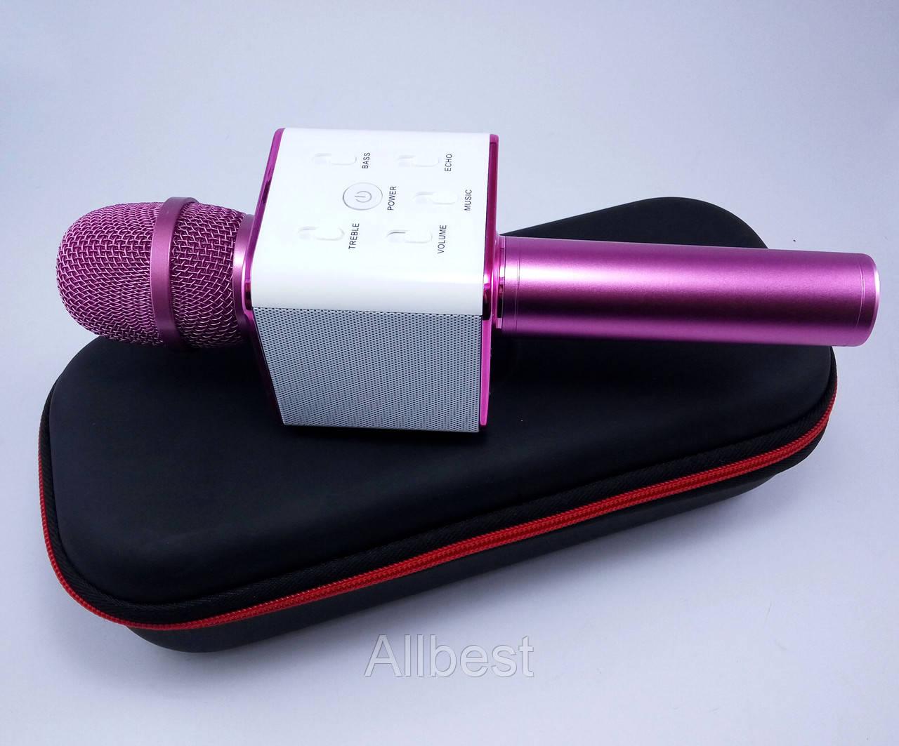Мульти-функциональный беспроводной микрофон Bluetooth Q7