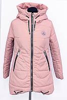 Женская куртка  весна/осень LK-1710 Розовый