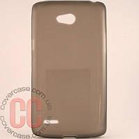 Чехол-накладка TPU для LG L80 D370 D380 (черный)