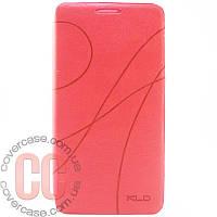 Чехол-книжка для LG L90 D405 D410 (розовый)