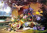 """Пазлы 2000 эл.. Castorland """"""""Elegant Still Life with Flowers"""", Eugene Bidau"""" (14)"""