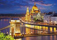 "Пазлы 2000 эл.. Castorland ""Budapest view at dusk"" (14)"