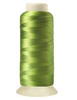 """Нитки вышивальные шелковые  """"777"""" - цвет светло-зеленый"""