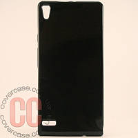 Чехол-накладка TPU для Huawei P6 (черный)