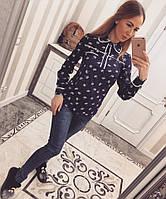 Женская рубашка креп-шифон, фото 1