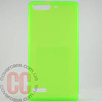 Чехол-накладка TPU для Huawei G6 (салатовый)