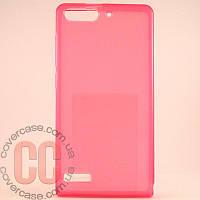 Чехол-накладка TPU для Huawei G6 (розовый)