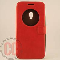 Чехол-книжка с окошками для Asus ZenFone 5 (красный)