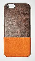 Чехол на Айфон 6/6s Beckberg Gentelman Series Натуральная Кожа Коричневый, фото 1