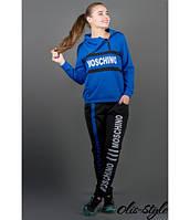 Женский спортивный костюм Перфект электрик Olis-Style 46-52 размеры
