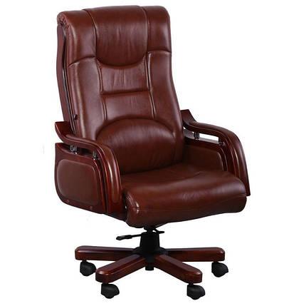 Кресло Ричмонд, кожа коричневая (642-B+PVC), фото 2