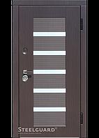Двери входные Steelguard Milano Light (Венге темный/Венге светлый)