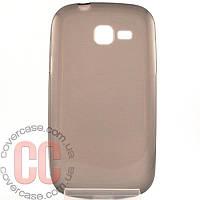 Чехол-накладка TPU для Samsung Galaxy Trend Duos S7392 (черный)
