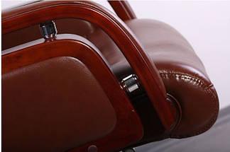 Кресло Ричмонд, кожа коричневая (642-B+PVC), фото 3