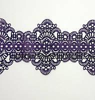 """Кружево для торта фиолетовое """"Ажур Pavoni"""""""