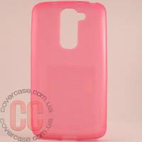 Чехол-накладка TPU для LG G2 mini D618 (розовый)