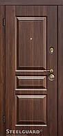 Двери входные Steelguard TermoScreen Темный орех