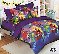 Полуторное постельное белье Тет-А-Тет 539