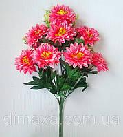 Букет искусственных цветов Хризантема атласная , 50 см