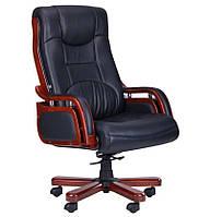 Кресло Ричмонд HB черная (642-B+PVC)