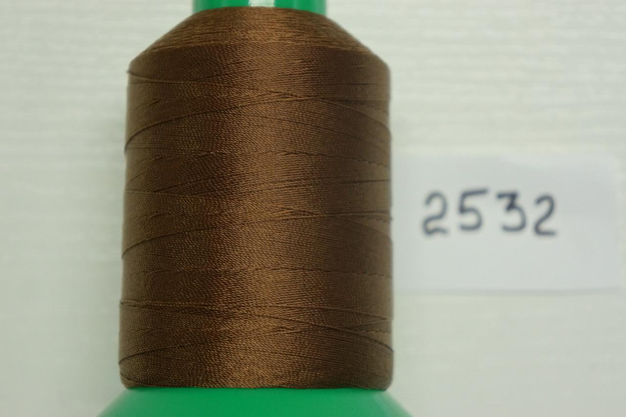 Нитка №40 (1000 м.) «Титан» колір  2532 коричневий