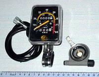 Велокомпьютер механический квадратный 092