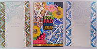 Блокнот А6 80 л. интегральная обложка 869 Mandarin Украина