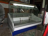Кондитерская витрина 1,5 бу, Прилавок кондитерський б/у, купить кондитерскую витрину б/у, фото 1