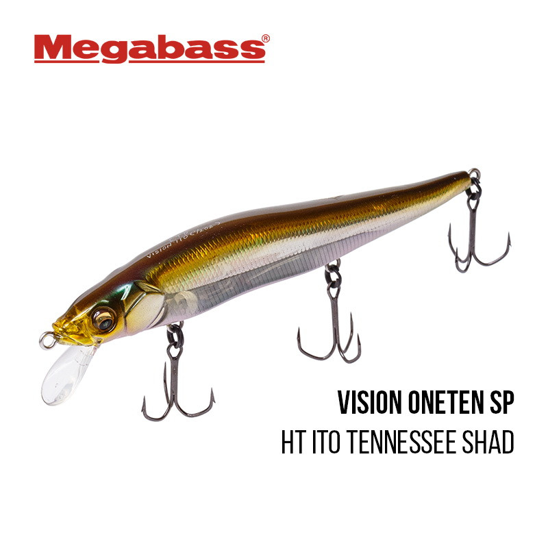 Воблер Megabass Vision Oneten SP-C 110 (ht ito tennessee shad)