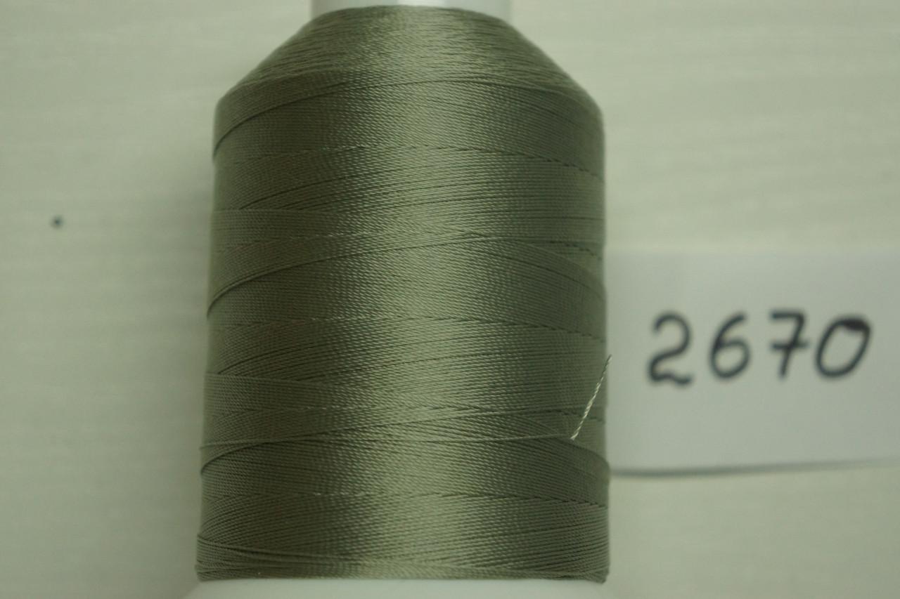 Нитка №40 (1000 м.) «Титан» колір  2670 сірий