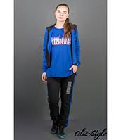 Женский спортивный костюм Арти электрик Olis-Style 46-52 размеры
