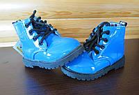 Детские ботинки лакированные р.21, фото 1