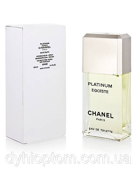 Реплика Тестера Chanel Egoist 100 ml мужской оптом