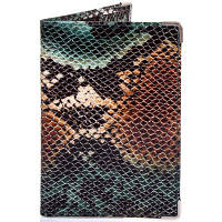 Женская кожаная обложка для паспорта canpellini (КАНПЕЛЛИНИ) shi586-4zm