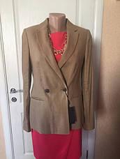 Пиджак женский удлиненный стильный приталенный длинный рукав весна-лето Massimo Dutti, фото 2