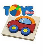Мини-пазл для детей «Машинка», 50172