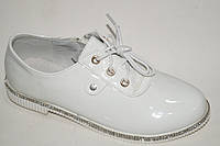 Демисезонная обувь. Весенние закрытые туфли на девочек от фирмы Башили G47-16 (8пар, 30-36)