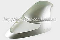 """Пластик   Zongshen F1, F50   передний (клюв)   (серый)   """"KOMATCU"""""""