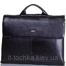 Портфель мужской кожаный с отделением для ноутбука desisan (ДЕСИСАН) shi1312-011-2fl