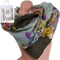 Женский хлопковый шарф 184 на 87 см  eterno (ЭТЕРНО) es0908-4-3